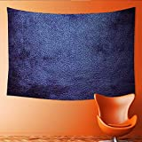 interesting contemporary closet design Printsonne Customed Widened Tapestry Navy Blue M ian Alien Skin Like Dark Blue Contemporary Interesting Design Dark Blue Wall Hanging Tapestry 84W x 70L Inch