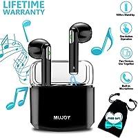 Cuffie Bluetooth Senza Fili, Auricolari Bluetooth Wireless Auricolari Stereo Mini In Ear Auricolare con Microfono TWS Cuffia Bluetooth Per Phone X Xs Max XR 8 7 6 Plus 5 S9 S8 S7 Edge Android IOS