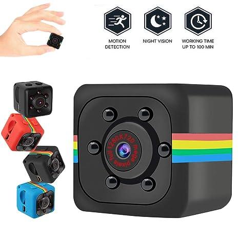 GUANLIAN Cámara de vídeo Micro ocultada Sensor de la visión Nocturna de la cámara SQ11 720p