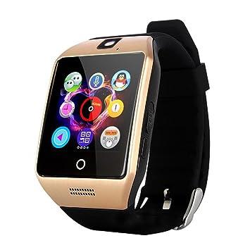 GreatCool Pantalla Arqueada NFC Bluetooth Reloj Inteligente Amarre Pulsera Smart Watch Compatible con Android Smartphone Soporta Llamada Mensaje SIM Para ...