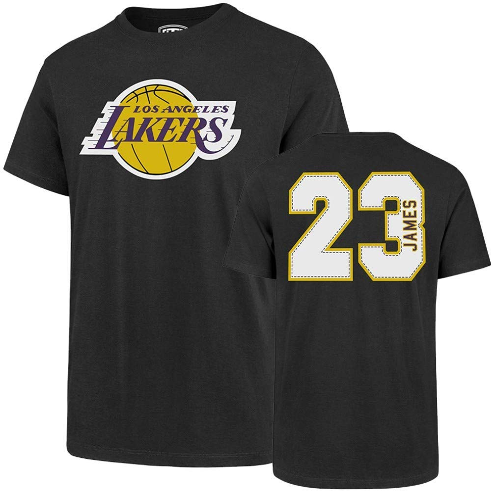 7f4836030 Amazon.com   NBA Los Angeles Lakers Player OTS Rival Tee   Sports   Outdoors
