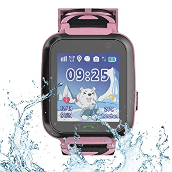 9Tong Kids Tracker Relojes con GPS SOS Tarjeta SIM Niños ...