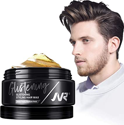 Jvr Men S Glistening Styling Hair Wax High Shine Finish Medium Hold 80g Pack Of 1 Amazon Co Uk Beauty