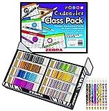 Zebra Pen Cadoozle Mechanical Pencil Classroom Pack, 0.9 mm, 8 Designs, 320 Pencils (56608) by Zebra Pen