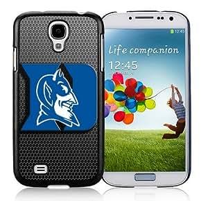 Custom Hard Shell Cover for Samsung Galaxy S4 I9500 Nice Ncaa Duke Blue Devils Case Mate for Guys