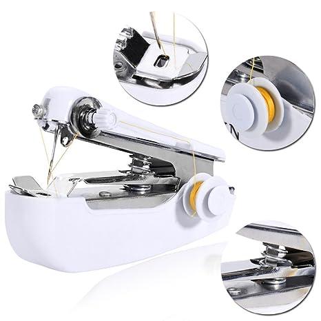 DP Design® Mini máquina de coser portátil de costura grapadora de