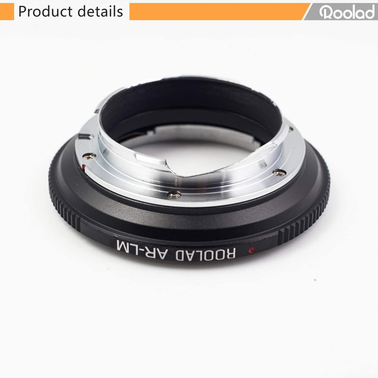 AR-LM Adapter KONICA Old Lens 40 1.8 50 1.7 50 1.4 Transfer to ...
