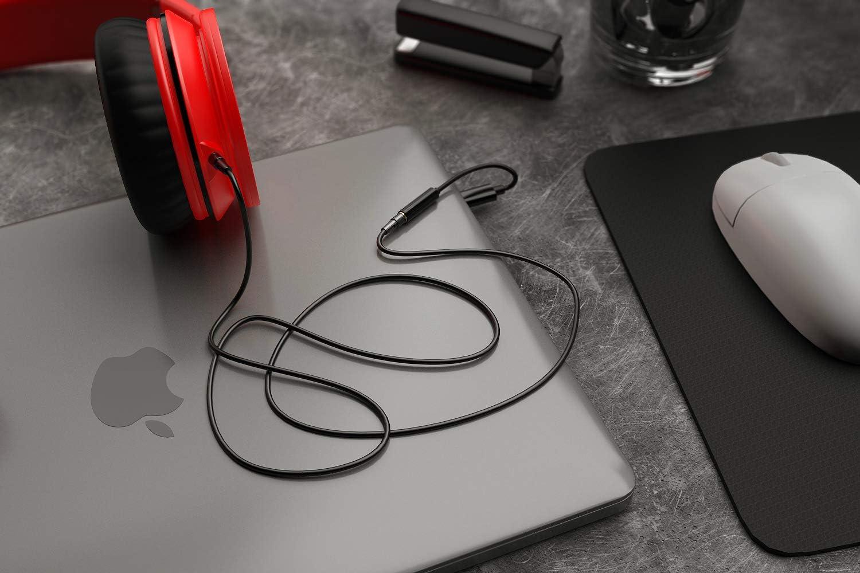 USB C DAC Portable 32 Bit Headphone Amplifier-Type C to 3.5mm Jack Adapter Premium Sound Enhancer for Google Pixel 2//3//4 XL,Samsung Note 10//10+,Oneplus 7 pro,Huawei Mate USB C Headphone Adapter