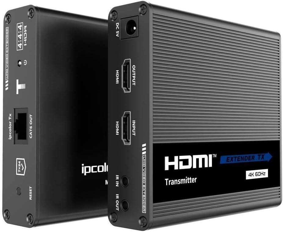 Premiumcord 4k Hdmi Extender To 70 M Via Cat6 Cat6a Computers Accessories