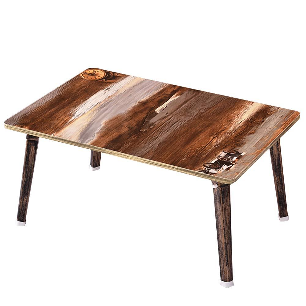 Tavolo pieghevole - Tavolo da colazione pieghevole per tavolo da colazione MDF Top Board (60x40x30cm) (Colore : 4) Rui Kang Yuan Shop