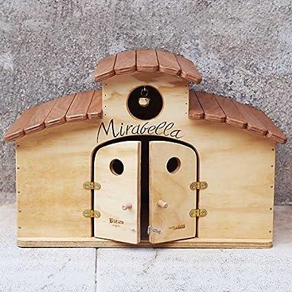 Blitzenpet New Mexico WP - Caseta exterior para gatos, fabricada en Italia