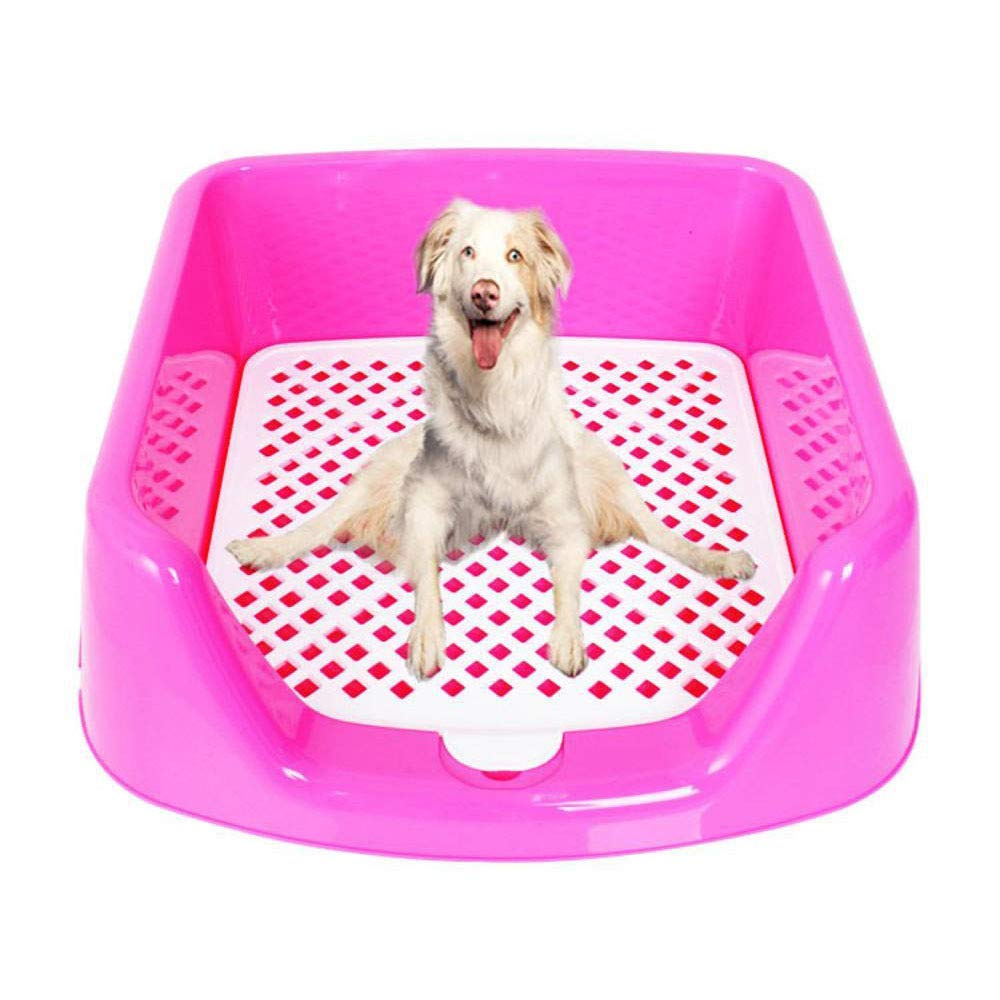 Axiba Pet toilet Pet Fence Toilet Small dog grid dog toilet dog urine basin dog bedpan