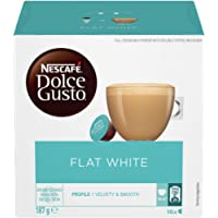 NESCAFÉ Dolce Gusto Flat White Coffee Pods, 16 Capsules (16 Serves) 187g