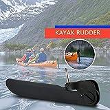 Lixada Canoe Kayak Boat Tail Kayak Rudder Direction Foot Control Steering System Tool Kit