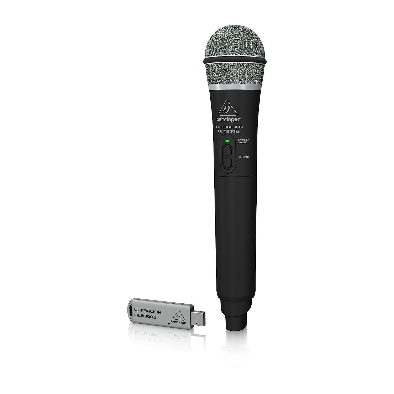 Behringer Ultralink High-Performance 2.4GHz Digital Handheld Microphone and Dual-Mode USB Receiver ULM300USB