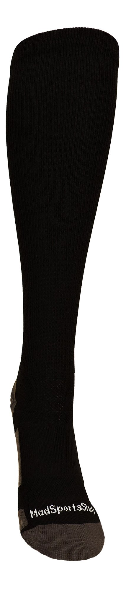 MadSportsStuff Player Id Black/White Over The Calf Number Socks (#07, Small) by MadSportsStuff (Image #2)