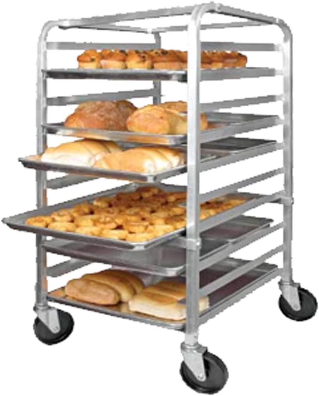 Winco ALRK-10 Aluminum 10 Full Size Pan Rack