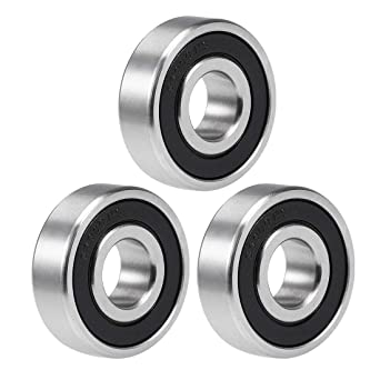 10 X S6000-2RS Stainless Steel Ball Bearing 10x26x8mm