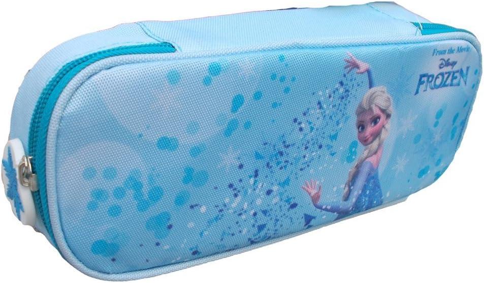 Disney La Caja de lápiz Caso Frozen Elsa Portador 1 BISAGRA 2 ...