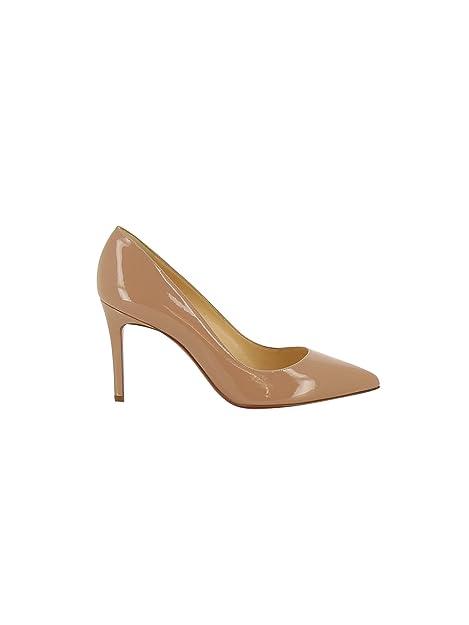 eae126007c4f3 Christian Louboutin Mujer 1100382Pk20 Rosa Cuero De Charol Zapatos Altos   Amazon.es  Zapatos y complementos