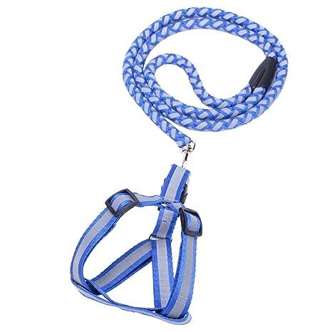 UEETEK Mascota Pecho del Arnés con Cuerda para Pasear Hacer ...