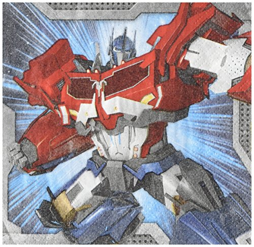 Transformers Beverage Napkins, Party Favor