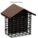 Stokes Select Suet Bird Feeder, Two Cake Suet