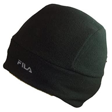 59d408b1 Fila Beanie/Skull Hat - Coolquik - Black - Size Medium: Amazon.co.uk:  Clothing