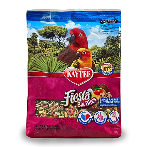 Kaytee Peanut - Kaytee Big Bites For Small Parrots And Conures, 4 Ib