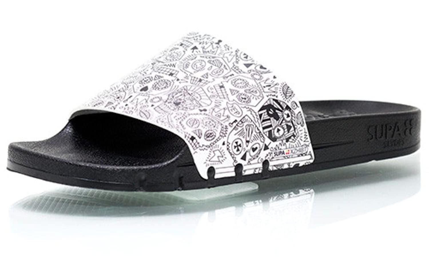 7459473f21 Supa Slydes Skulls Slip On Sport Slide new. Black Flys Flyami Vice Wayfarer  Sunglasses outlet