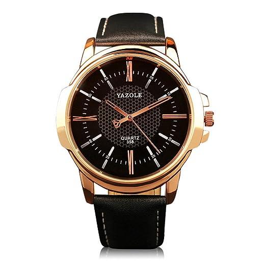 d94c7575f11 JACKY S - YAZOLE Wrist Watch Mens Watch Fashion 2017 Top Luxury Men s Slim  Leather Band Casual