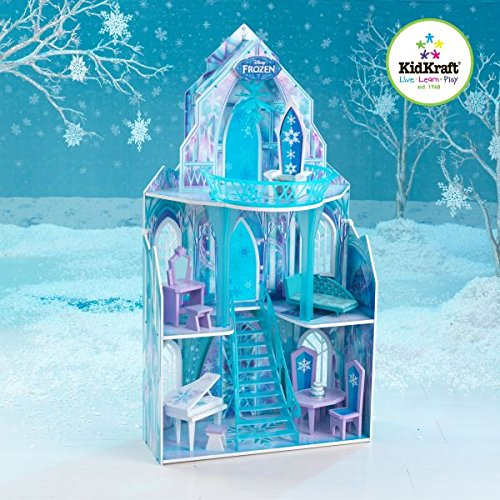 Used, KidKraft Disney Frozen Ice Castle Dollhouse for sale  Delivered anywhere in USA