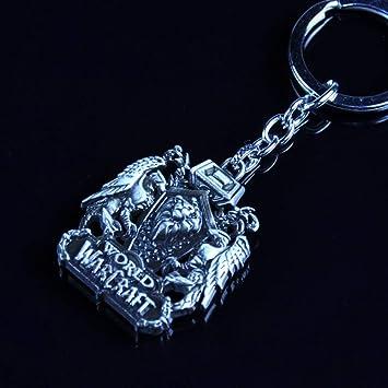 Ou lida Escudo de Cabeza de león Llavero Colgante Insignia ...