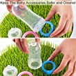 BABY MATE Large Lawn Anti-Bacterial Drying Rack (11\