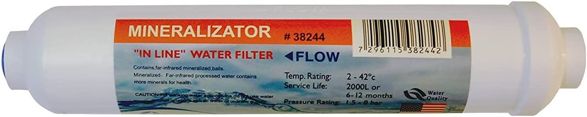 Reverse Osmosis Revolution Mineral57 Alkaline Water Filter Cartridge