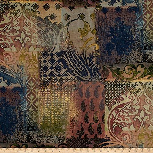 Covington Talia Linen Burnished Bronze Fabric By The Yard