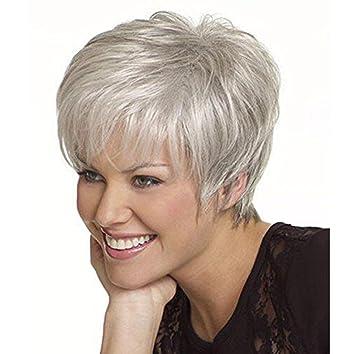SHKY Pelucas mullidas rizadas del pelo de la cabeza llena de la manera Pelucas resistentes al