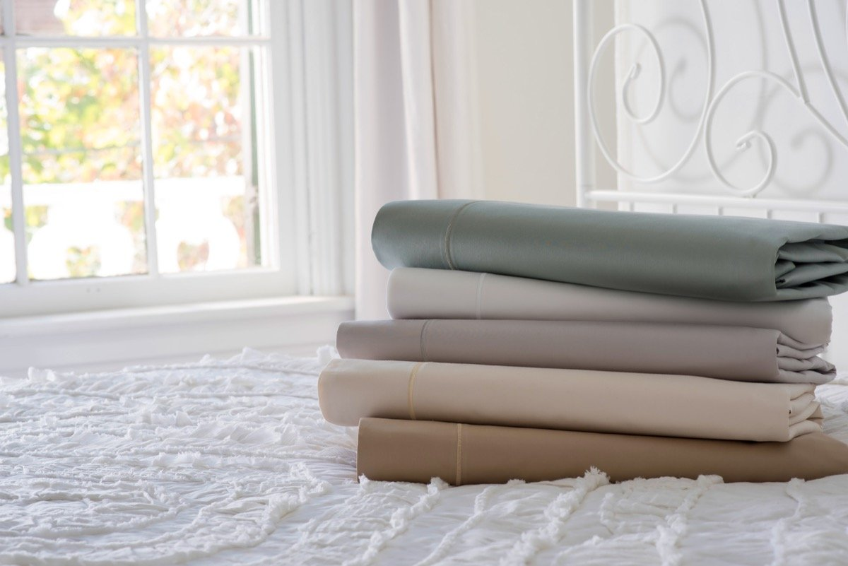 Magnolia Organics Estate Collection Sheet Set - King, White