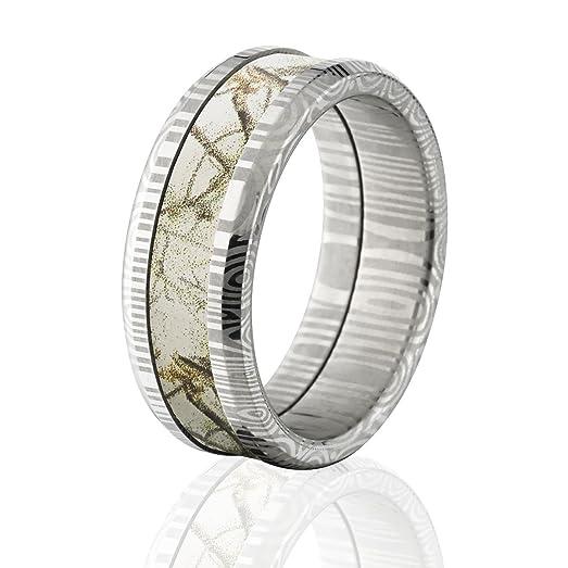Camo wedding rings on amazon