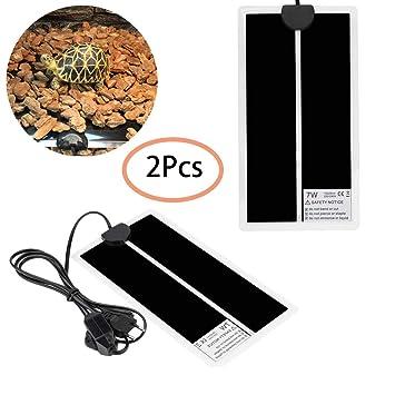 Qwhome Alfombrilla Calefactora De Temperatura De Colchón Ajustable Calentador Calefactor De Mascota (7 W, 220 V UE): Amazon.es: Productos para mascotas