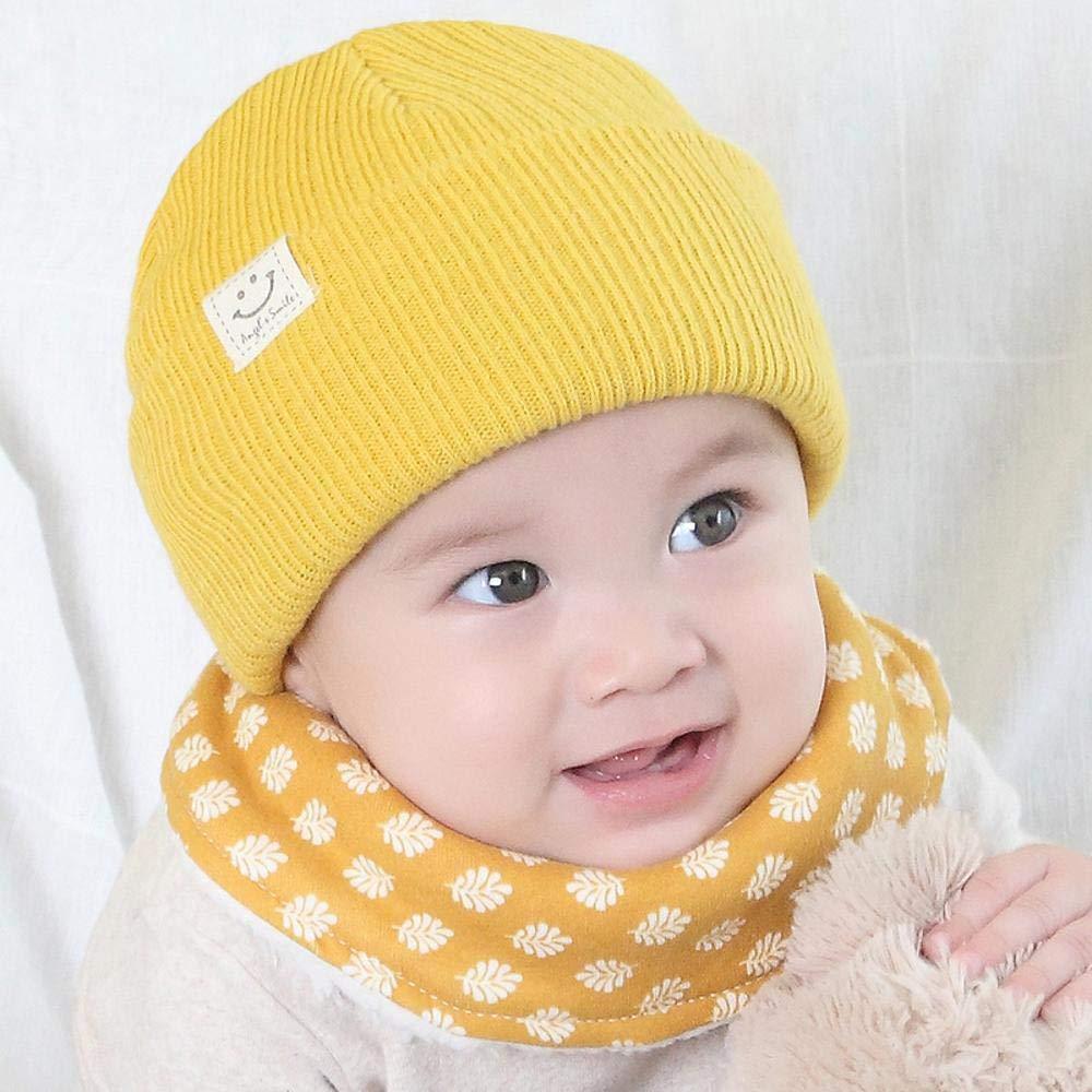 Myzixuan New Childrens Hats Autumn//Winter Warm Baby hat Newborn Sweater Knit Hat