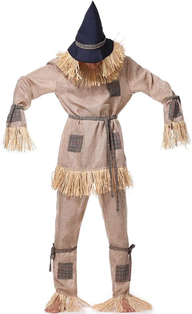 PAOFU-Disfraz de Cosplay de Espantapájaros para Adultos,Disfraces ...