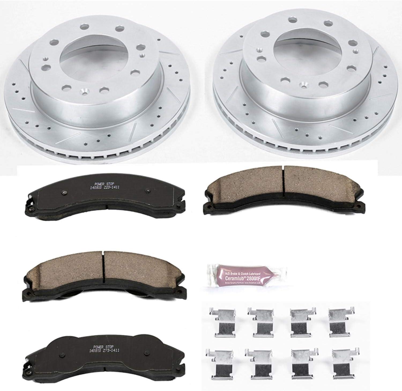 Power Stop Z23-1411 Z23 Evolution Sport Carbon-Fiber Ceramic Front Brake Pads