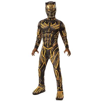 Rubie\'s Costume Co - Marvel: Black Panther Movie Deluxe Boys Erik Killmonger Battle Suit Costume: Toys & Games [5Bkhe0800558]