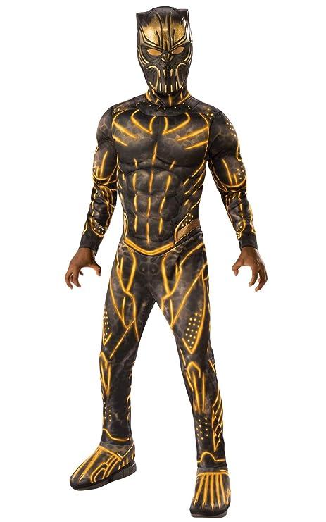 Amazon Com Rubie S Child S Deluxe Black Panther Movie Erik