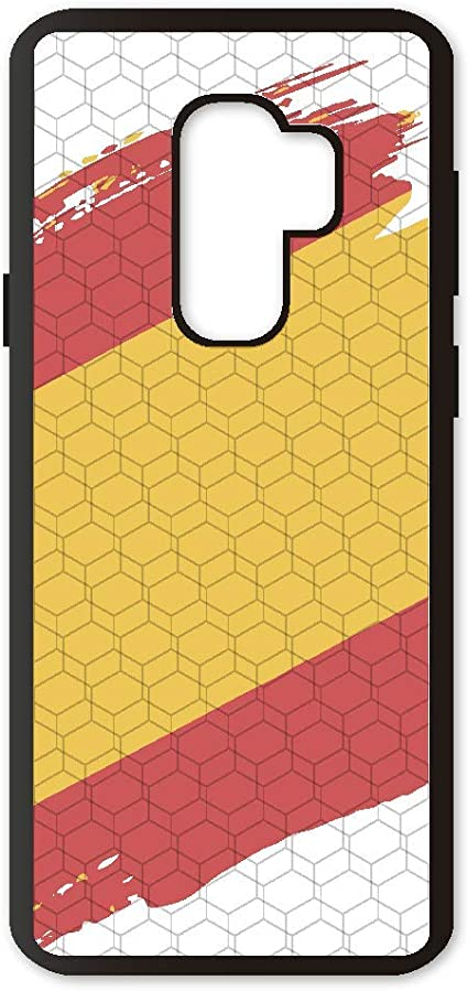 Funda móvil Compatible con Samsung Galaxy S9 Plus España Bandera ...