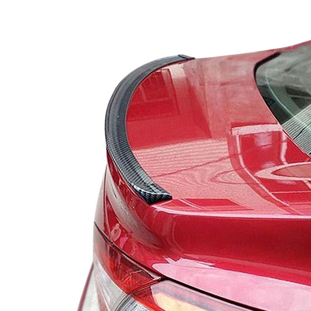 KFZ PKW Auto Kofferraum Heck Spoiler Lippe Carbon Optik