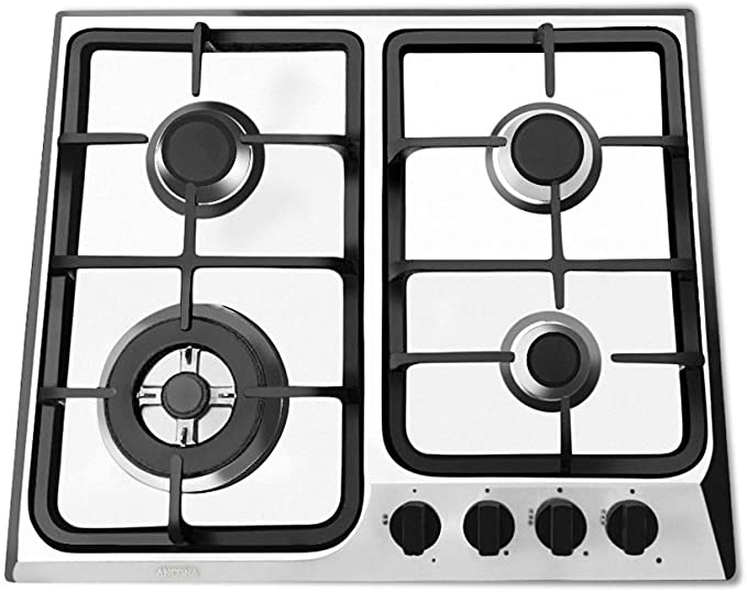 Ancona AN-21249 24 Gas Cooktop Stainless Steel