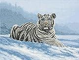 Siberian Tiger - Cross Stitch Kit - 12x16-inches