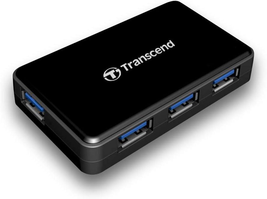 Transcend Usb 3 0 4 Port Hub Ts Hub3k Computer Zubehör
